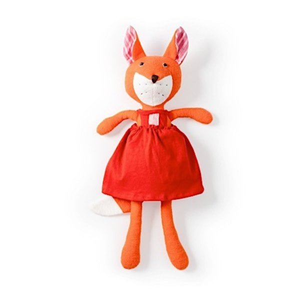 Hazel Village Flora Fox - Strawberry Red Jumper