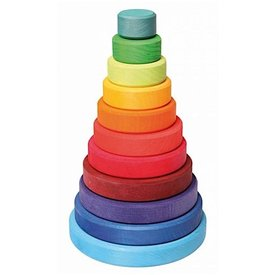 Grimms Large Conical Tower Rainbow