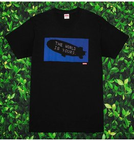 Supreme THE WORLD IS YOURS TEE