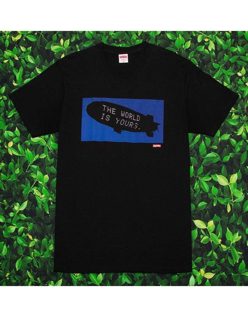 Supreme SUPREME THE WORLD IS YOURS TEE
