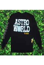 AstroWorld ASTROWORLD WISH YOU WERE HERE LONG SLEEVE TEE BLACK L