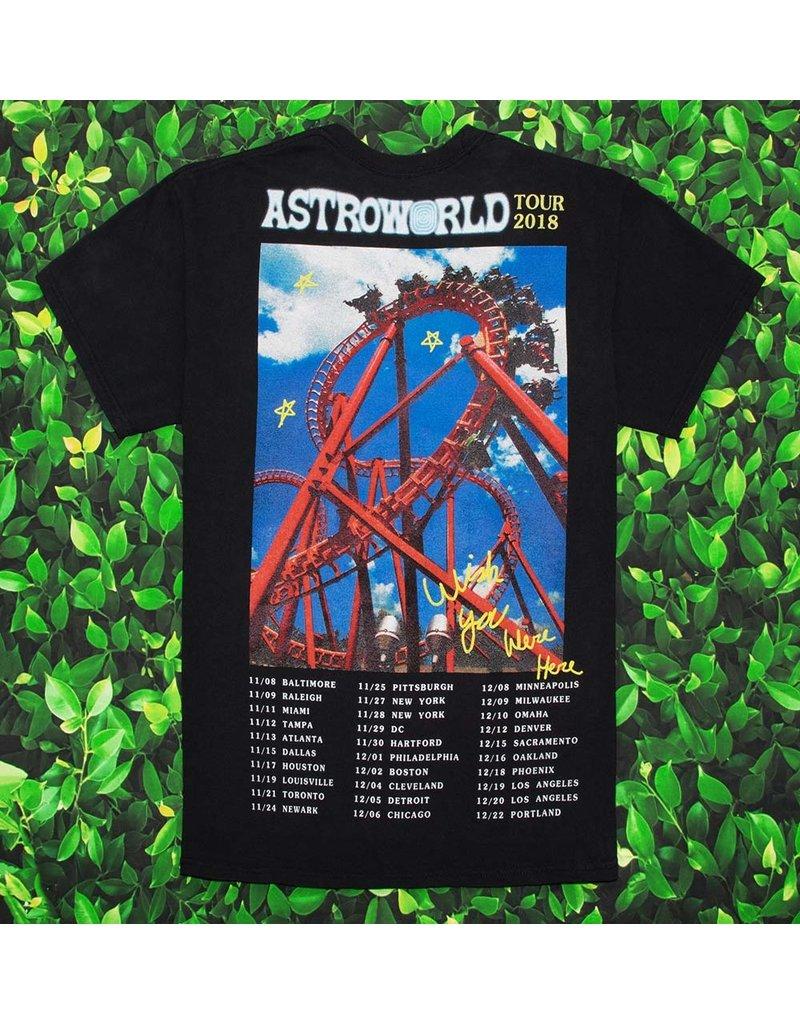 AstroWorld ASTROWORLD ROLLECOASTER TEE BLACK