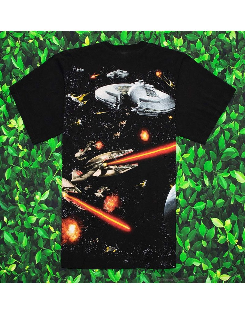 VINTAGE STAR WARS TEE BLACK L