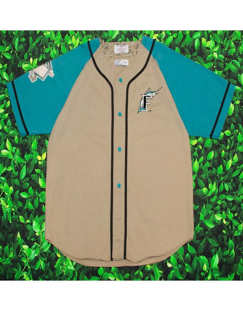 save off daabd 62f33 VINTAGE MIAMI MARLINS BASEBALL JERSEY