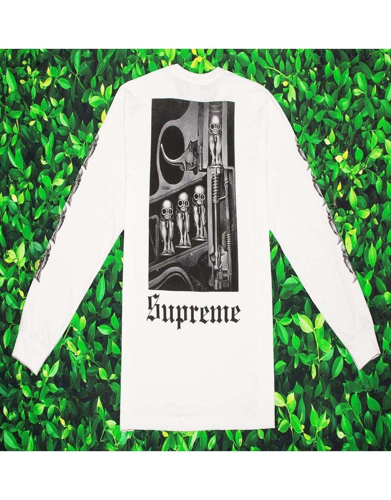 Supreme SUPREME H.R. GIGER MACHINE BIRTH TEE