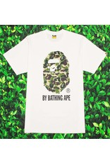Bape ABC GREEN CAMO BY BATHING TEE