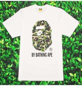 Bape ABC GREEN CAMO BY BATHING TEE