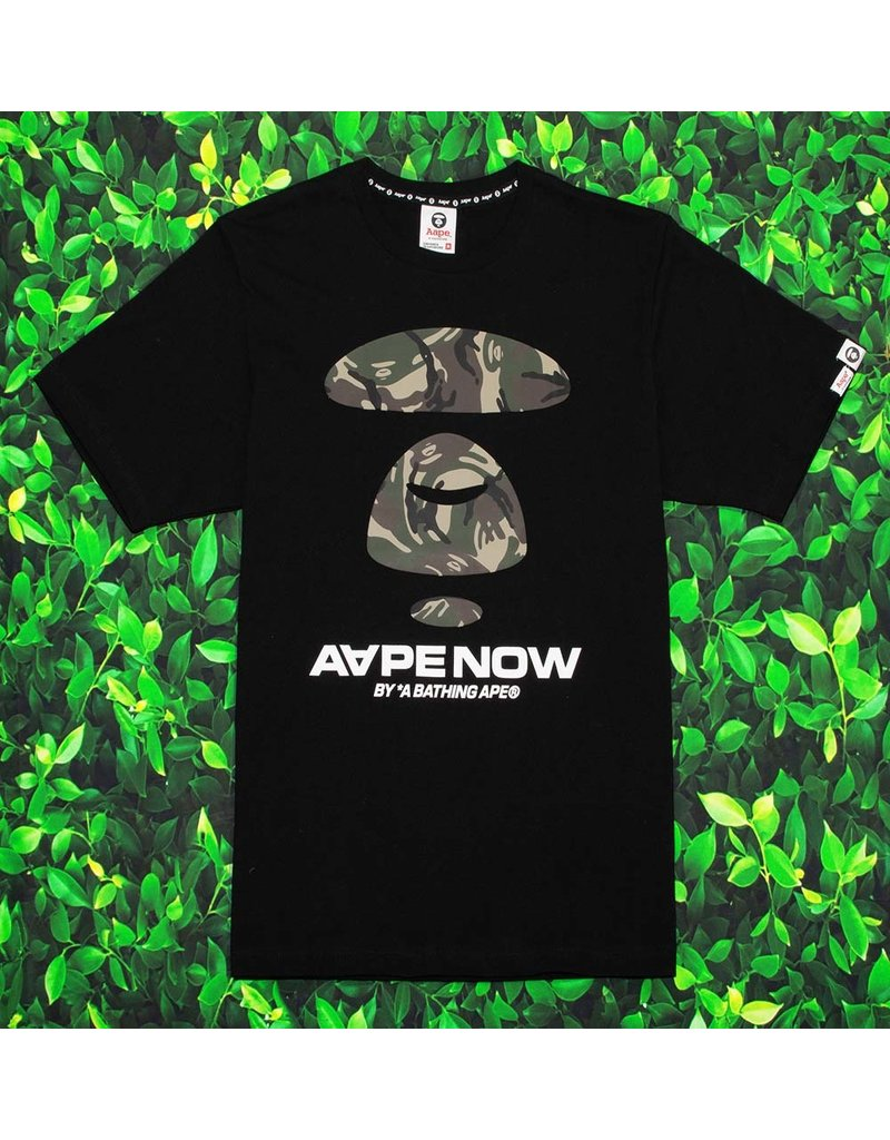 Bape AAPE AAPE NOW PRINTED COTTON JERSEY