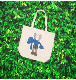 UNIQLO X KAWS KAWS TOTE BAG WHITE