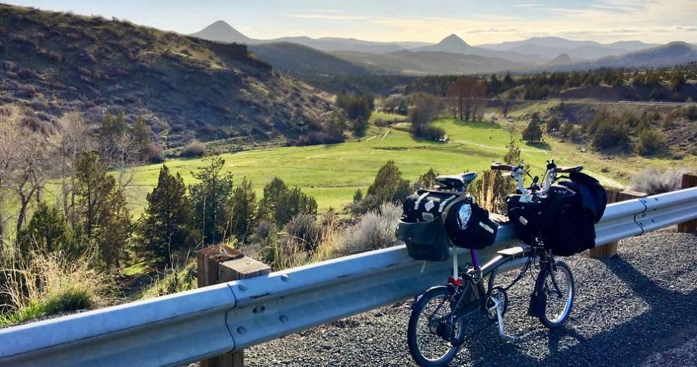 Bikepacking Central Oregon Mountains in Spring