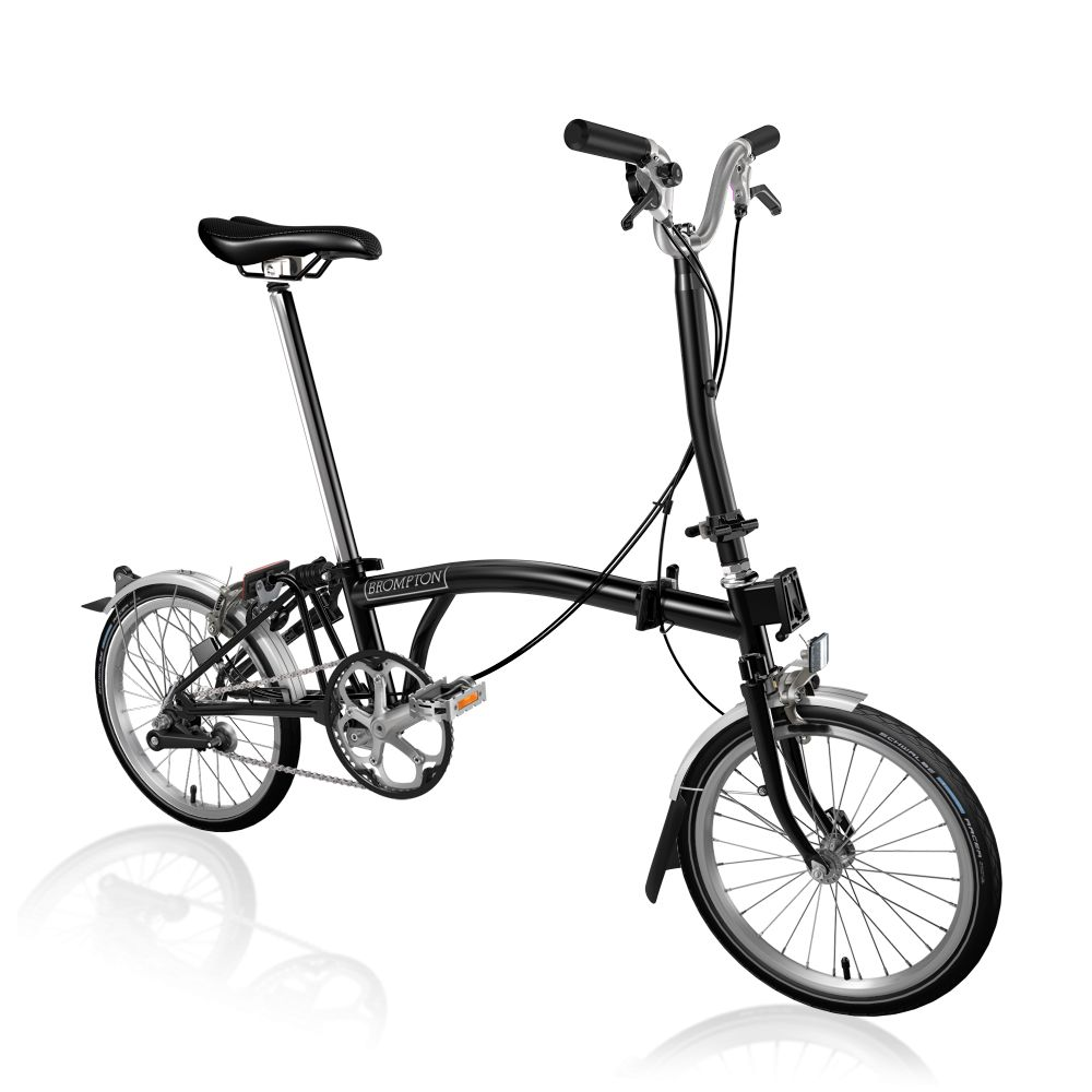 6a524e5fe0a Brompton H3L Folding Bike - Clever Cycles