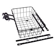 Wald Wald 1372 Front Basket, Black, Multi-Fit