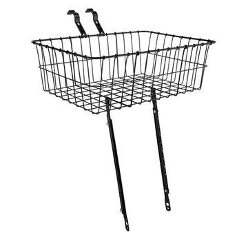 Wald Wald 1392 Front Basket, Black, Multi-Fit