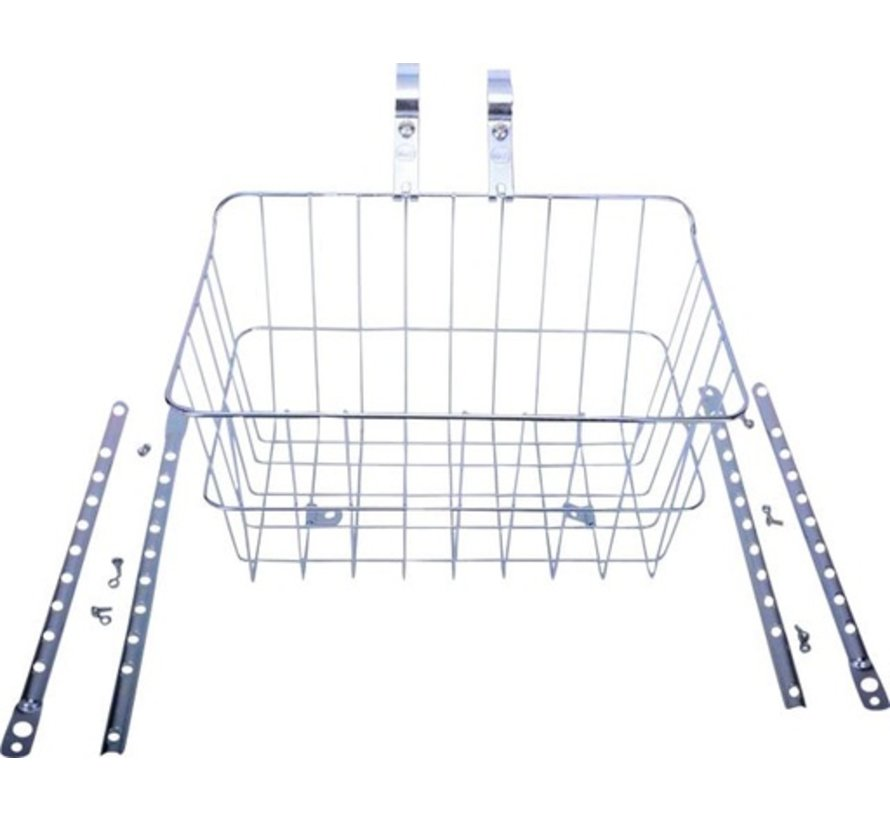 Wald 1512 Front Basket, Drop Front, Adjustable Legs