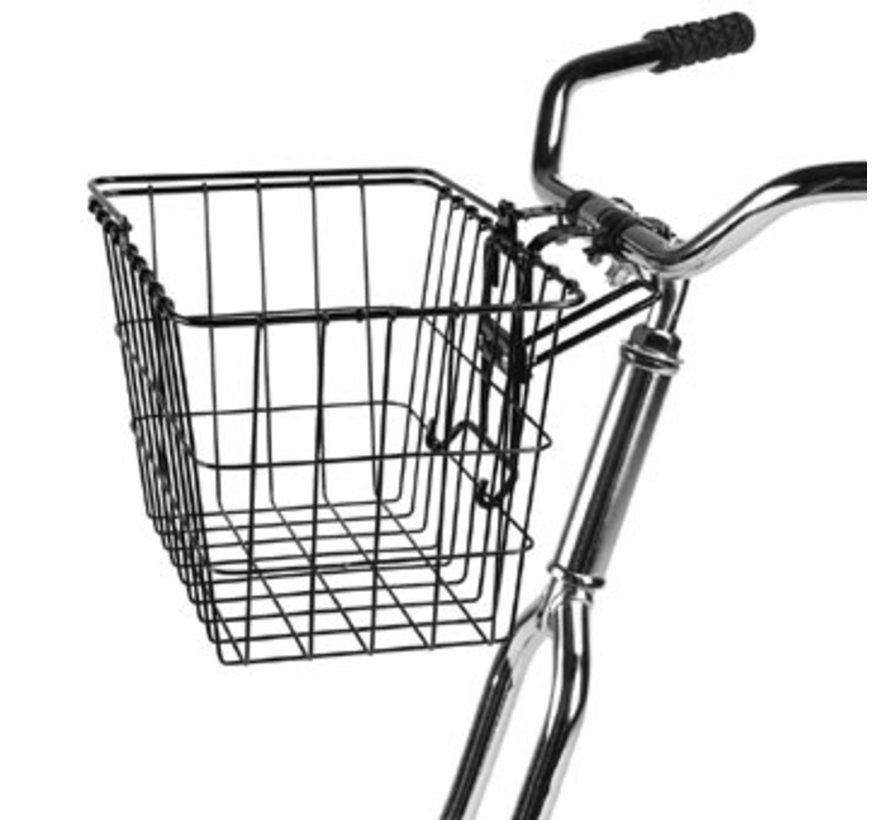 Wald 3133 Front Basket, Black