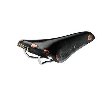 Brooks Brooks Team Pro Leather Saddle, Chrome Rails