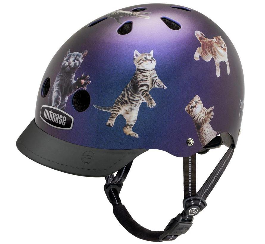 Nutcase Street Space Cats Helmet