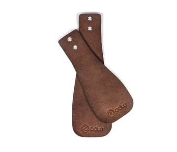 PDW PDW Lederlappen Leather Mudflap Set - 45mm