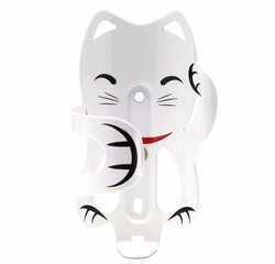 PDW PDW Lucky Cat Bottle Cage, White