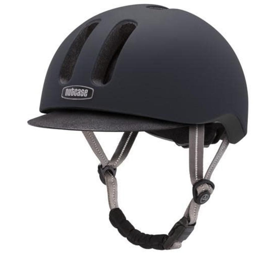 Nutcase Metroride Black Tie Helmet