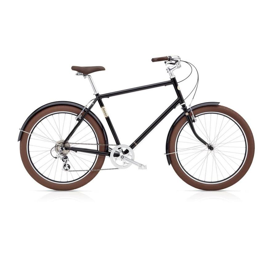 Benno Bikes Ballooner 8D Step-Over City Bike