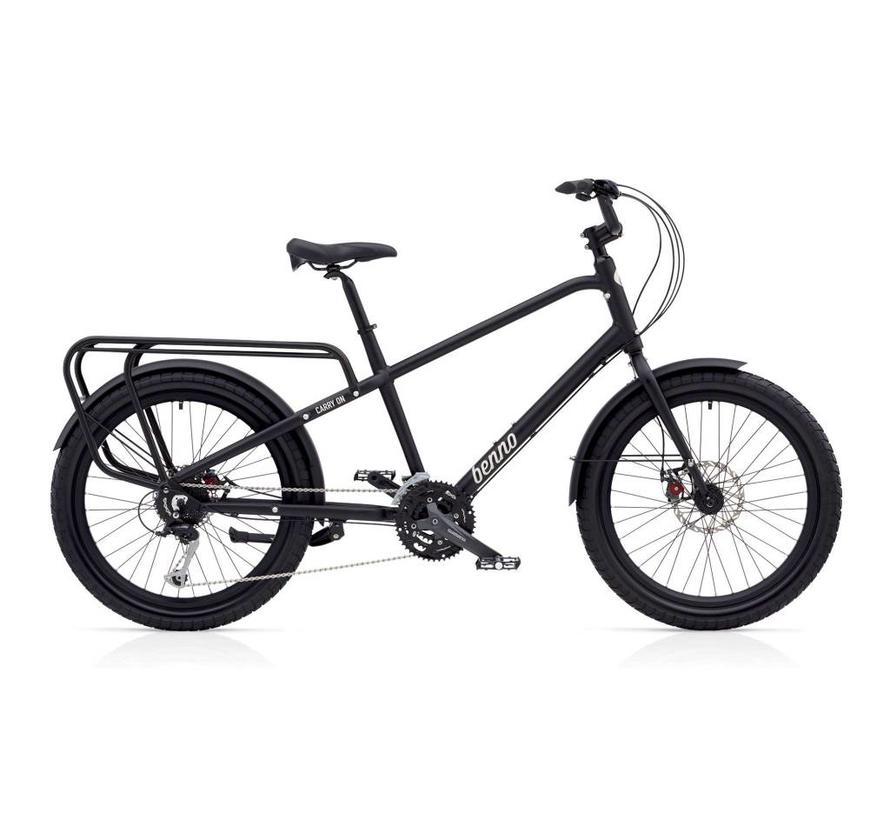 Benno Bikes Carry On 27D Cargo Bike