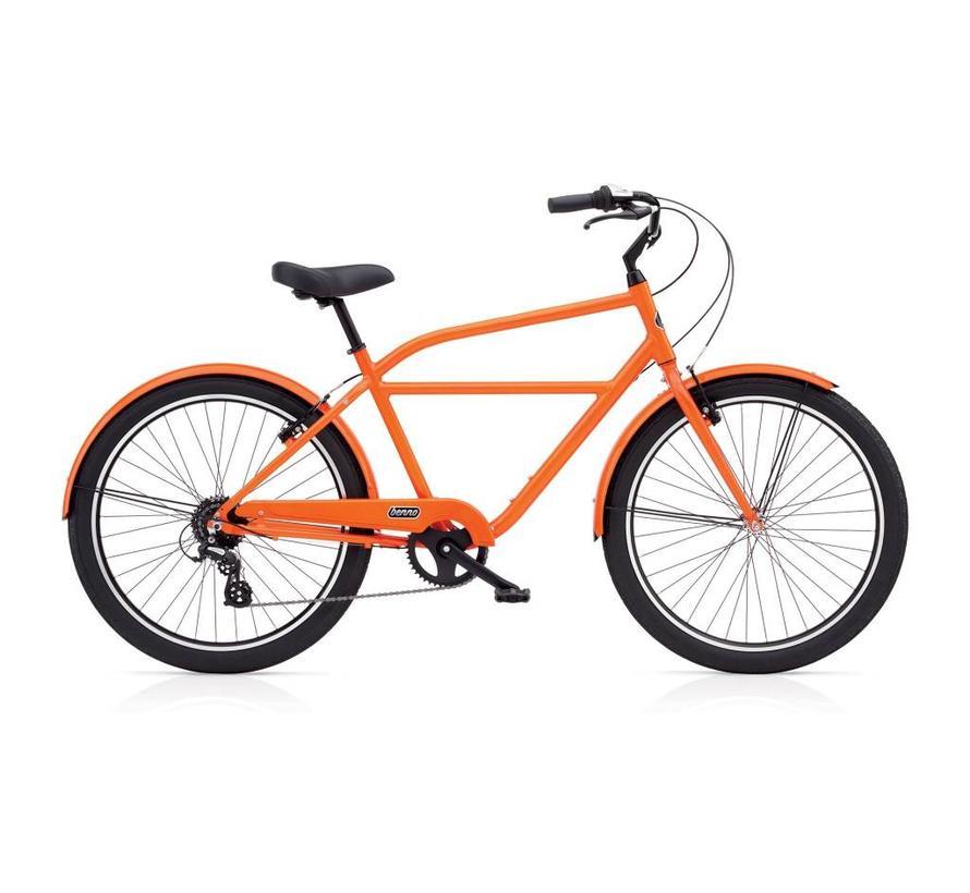 Benno Bikes Upright 8D Step-Over City Bike