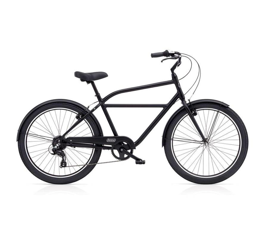 Benno Bikes Upright 8D Step-Over City Bike