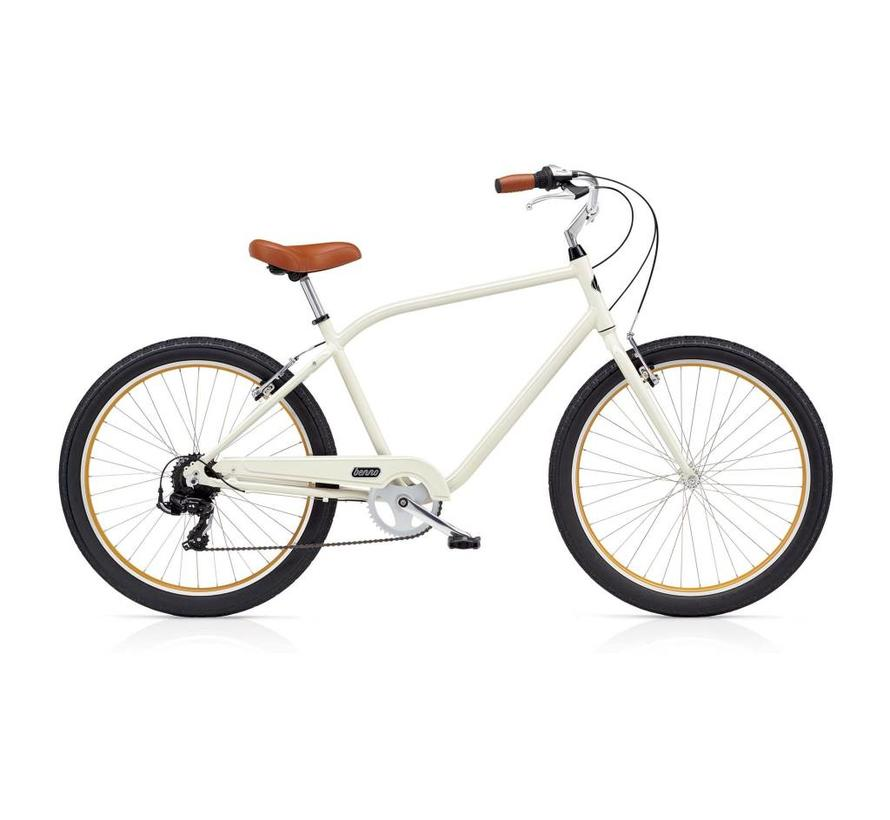 Benno Bikes Upright 7D Step-Over City Bike