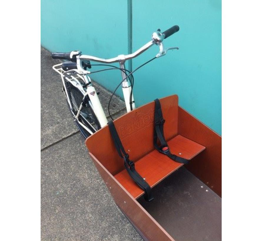 Used Bakfiets Cargo Bike, Ivory