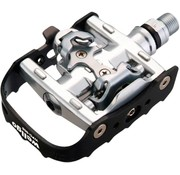 Wellgo Wellgo WPD-95B Clipless/Clip Pedals Black/Silver