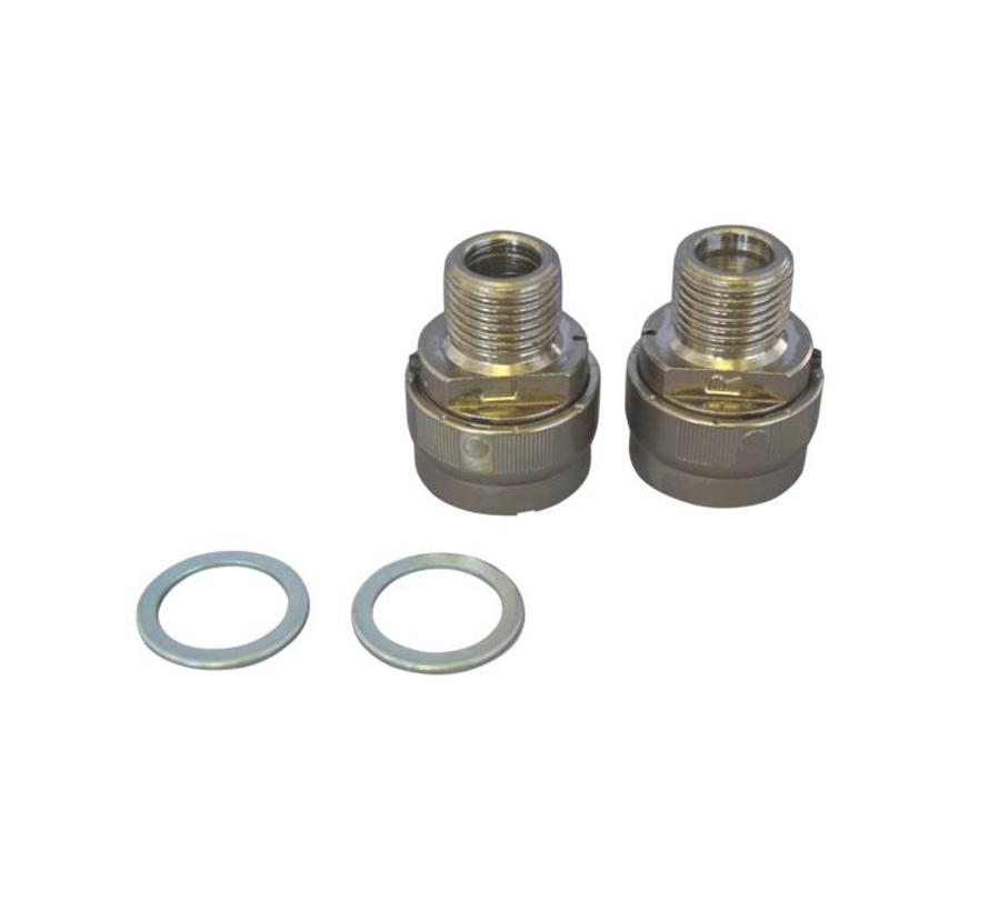 MKS Ezy Superior Pedal Adapters (Pair)