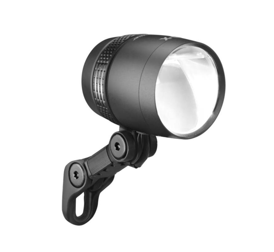 B&M Lumotec IQ X Dynamo Headlight, Black