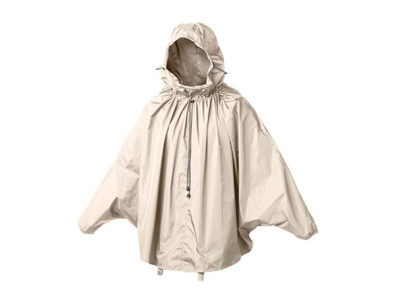 White rain cape