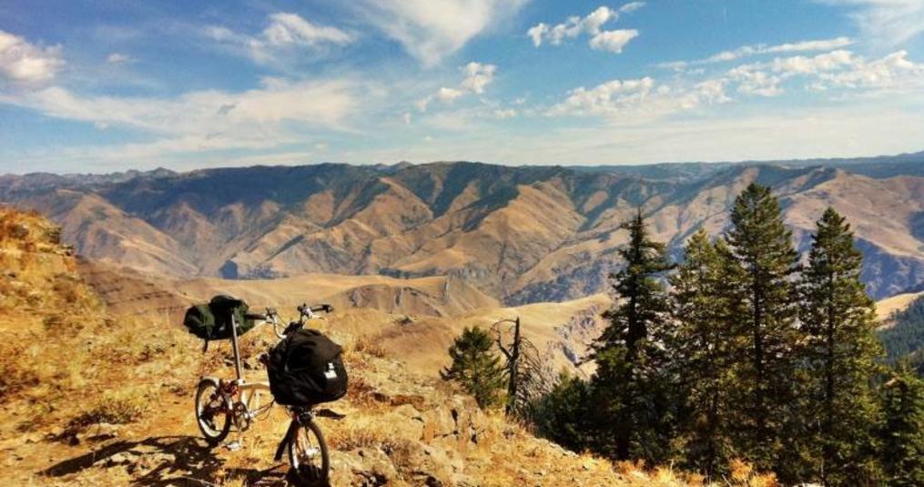 Bromptoneering the Blue and Wallowa Mountains