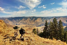Bromptoneering the Blue and Wallowa Mountains