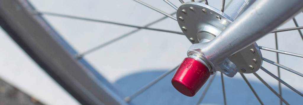 "Abus Nutfix Anti Thief Locking Wheel M5 Axle Set 100//135/"""
