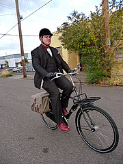 Cedric and his Workcycles bike