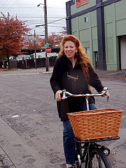 Beth and her Workcycles bike