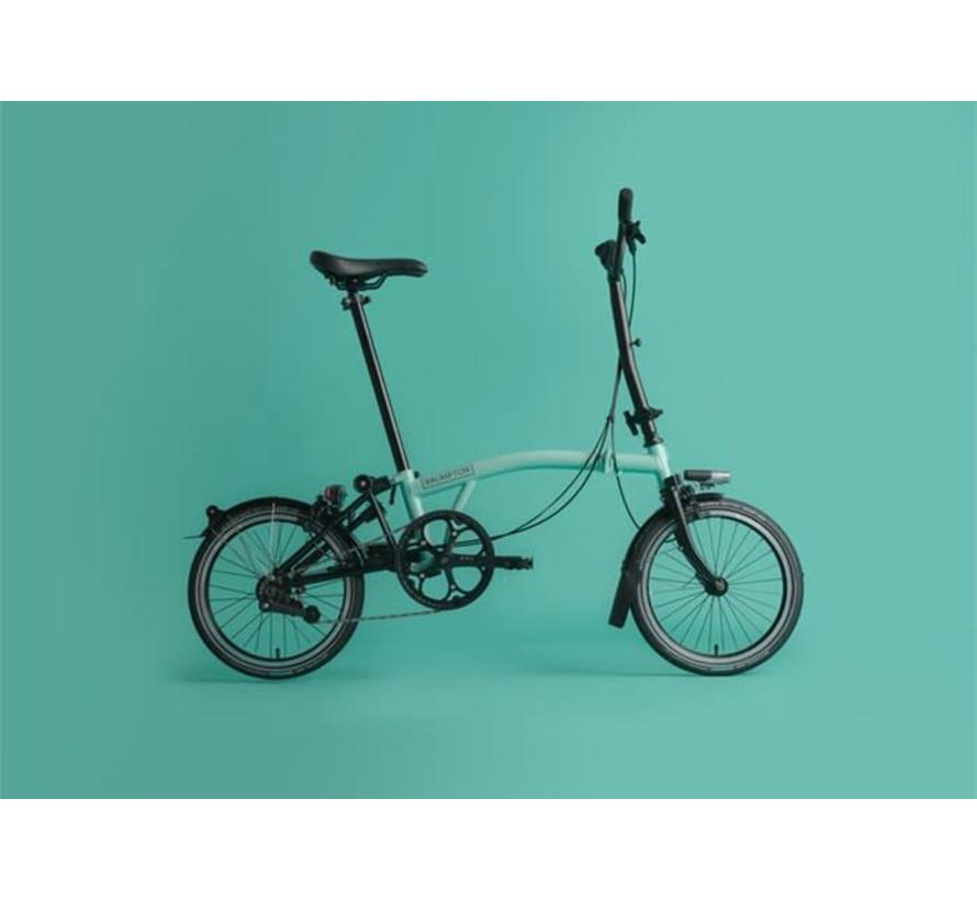 H6L Black Edition Brompton, Turkish Green