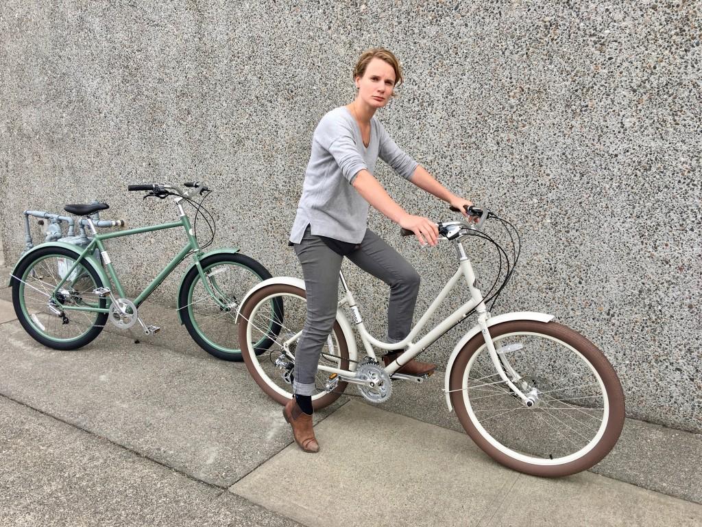 Benno Bikes rider