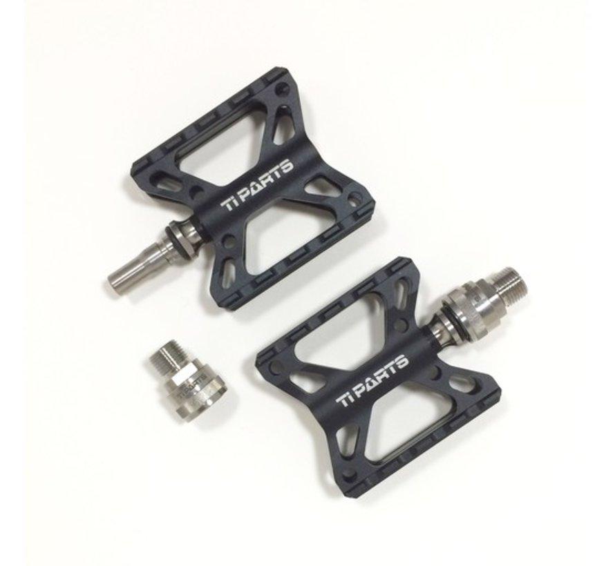 TPW Brompton - Double X Pedal, Black