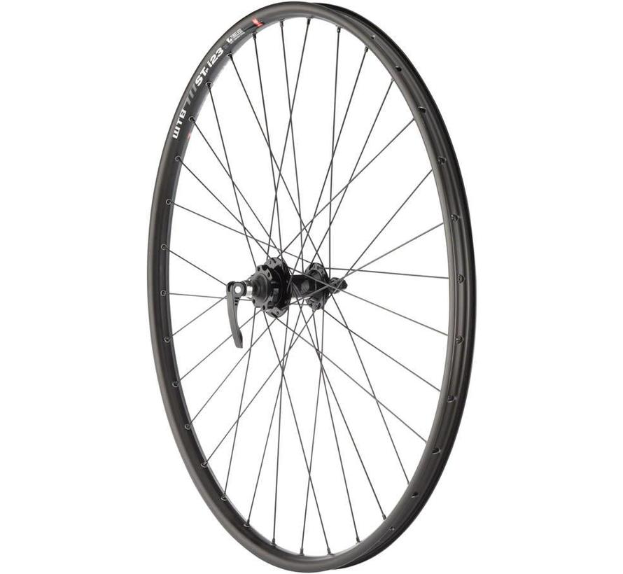 "Quality Wheels Mountain Disc Front Wheel 29"" 100mm QR SRAM 406 6-bolt / WTB ST i23 Tubeless Black 32h"