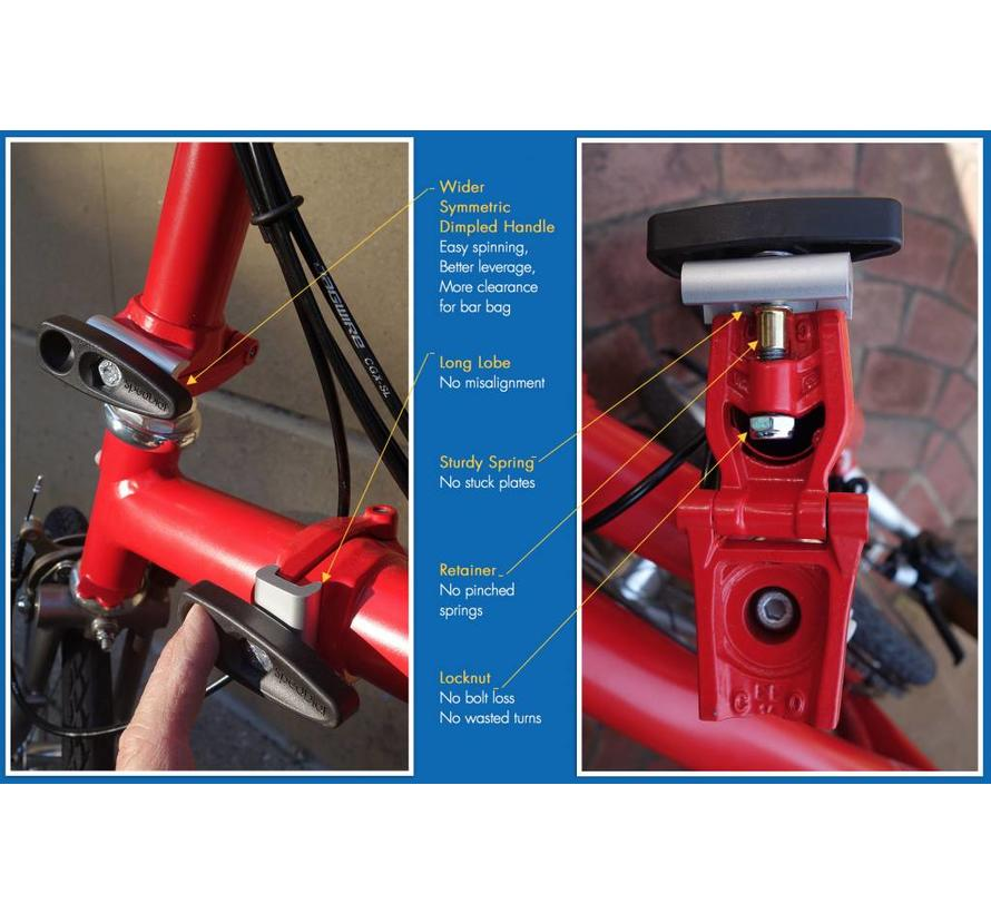 SpedDial Hinge Clamps for Brompton