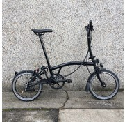 Brompton M6L Black Edition Brompton Folding Bike, Dynamo