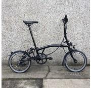 Brompton M6L Black Edition Brompton Folding Bike, Dynamo