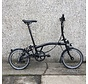 M6L Black Edition Brompton Folding Bike, Dynamo