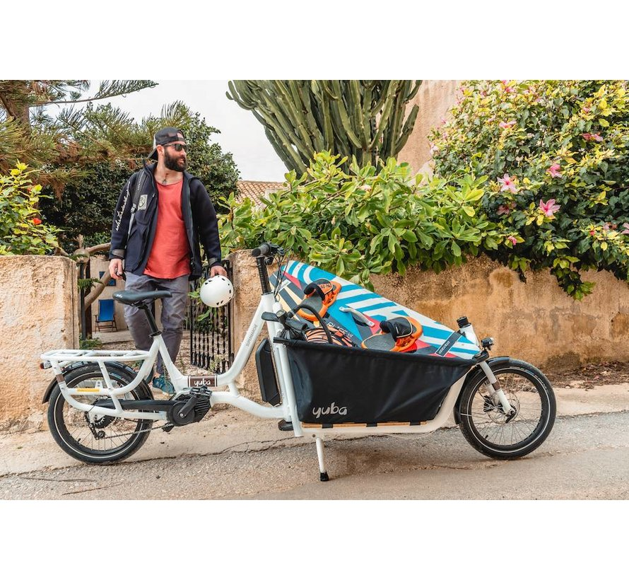 Yuba Electric Supermarché Front Loader Cargo Bike