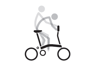 Brompton P Type Riding Position