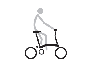 Brompton H Type Riding Position